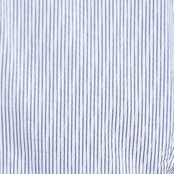 camisa listrada azul principessa ellora tecido