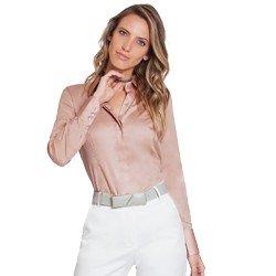 camisa social rose personalizada principessa amber geral