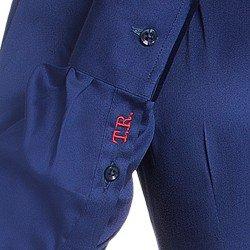 camisa social marinho personalizada principessa arabella bordado