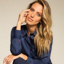 camisa social marinho personalizada principessa arabella modelo