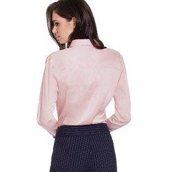 camisa social rose hidry principessa judite modelagem