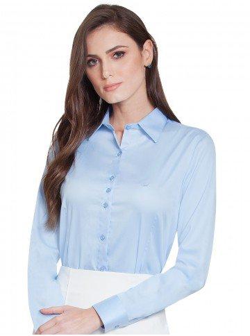 769fd79a4 camisa social hidry azul principessa nilva frente