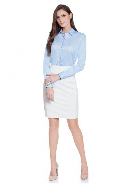 1709a13c6 ... camisa social hidry azul principessa nilva frente total ...