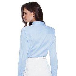 camisa social hidry azul principessa nilva costas modelagem