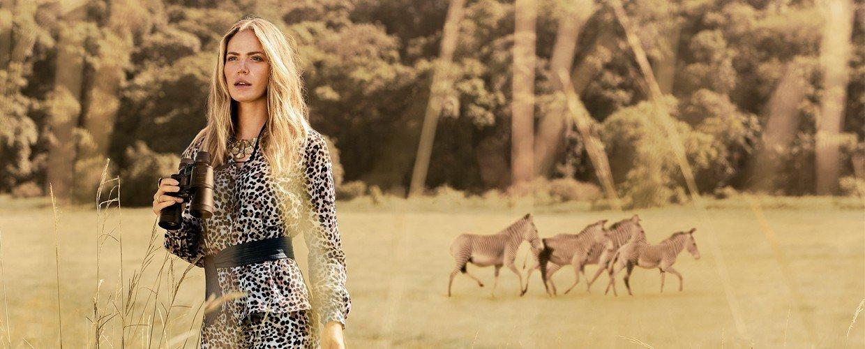 camisa animal print leopardo principessa damiane banner