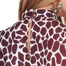 regata animal print girafa principessa marisa detalhes harmonicos