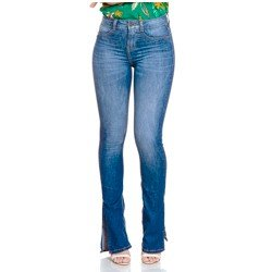 calca jeans boot cut denim zero dz2787 geral