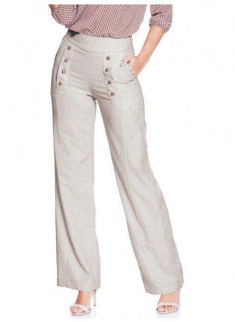 ea6357acfc calca pantalona linho principessa neusa frente