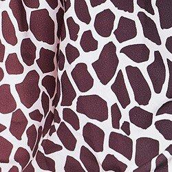 camisa animal print girafa principessa anastacia tecido