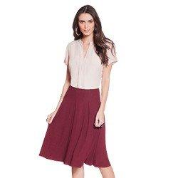 blusa manga curta rose principessa layla geral