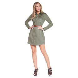 vestido chemise verde militar principessa flavia combinacoes