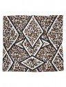 echarpe animal print geometrico principessa lala lenco aberto