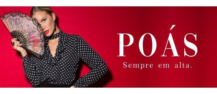 As Mais Bonitas Camisas Femininas com estampa de Poá