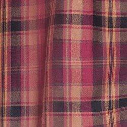 camisa xadrez bordo principessa ines tecido