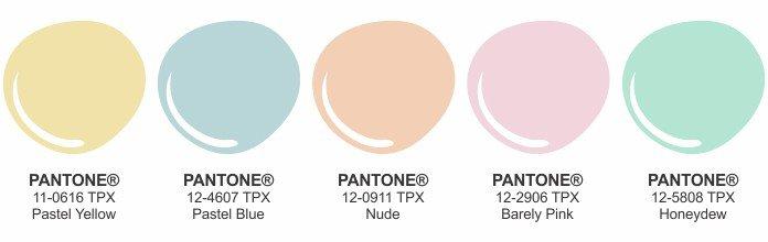 candy colors palette principessa