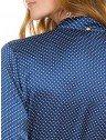 camisa social com gola laco principessa maria lenidja costas detalhes