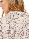 blusa animal print cobra principessa geane costas detalhes