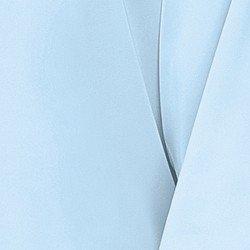 blusa de cetim azul principessa elizabet tecido