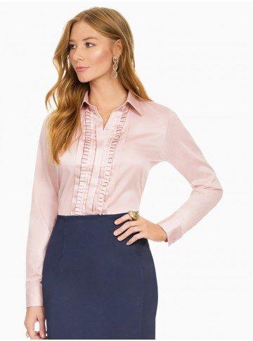 camisa feminina rose principessa glenda frente