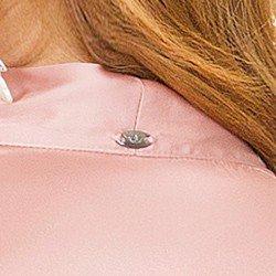 camisa de cetim rose principessa miriam AVIAMENTO