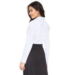 camisa social branca principessa roberta MODELAGEM
