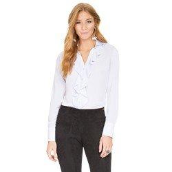 camisa com babados branca principessa helena geral