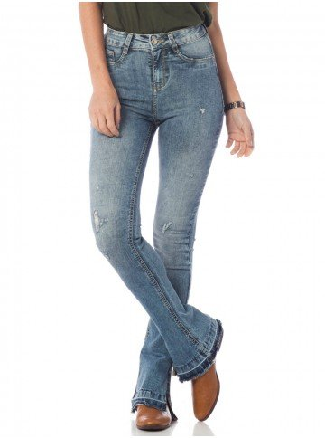 calca jeans estonada but coot denim zero dz2647