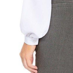 camisa social feminina branco com renda principessa pamela AVIAMENTO