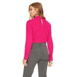blusa pink com babados principessa edna modelagem