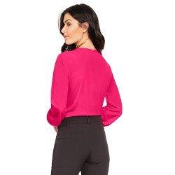 blusa feminina pink principessa otavia modelagem
