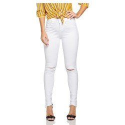 calca jeans skinny branca com rasgo no joelho denim zero dz 2694 12 geral