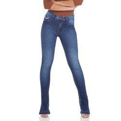 calca jeans feminina estonada denim zero dz2927 geral