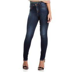 calca jeans estonada com abertura na barra denim zero dz2876 geral