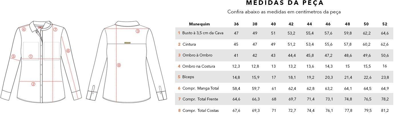 tabela medidas camisa laura ok