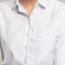 camisa listrada bolso gleice aviamentos