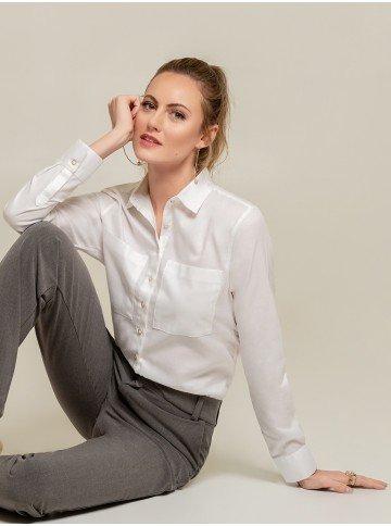 camisa branca lenna frente