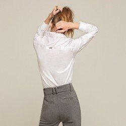 camisa branca lenna modelagem