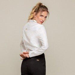 camisa oxford branca nancy modelagem