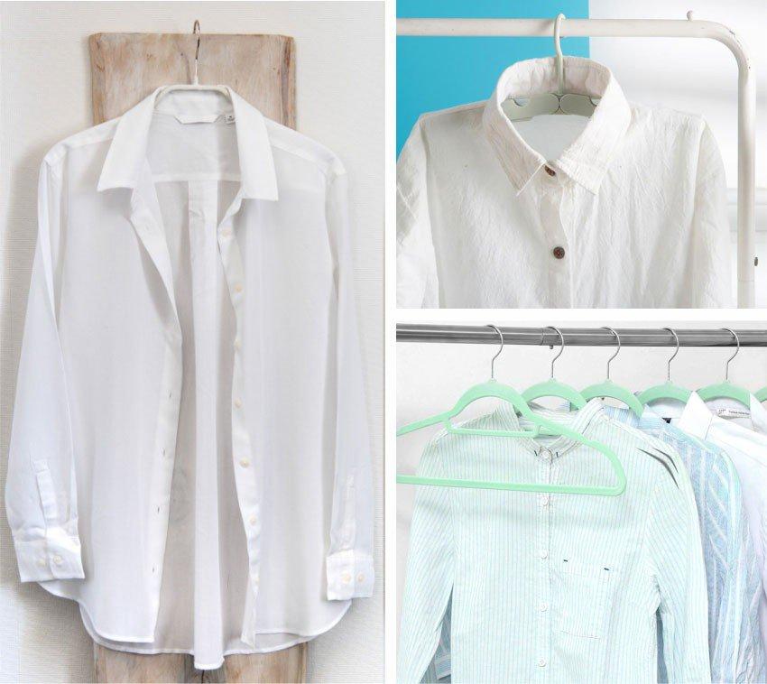 Como cuidar da sua camisa secando