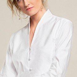 camisa branca maquinetada alicia gola