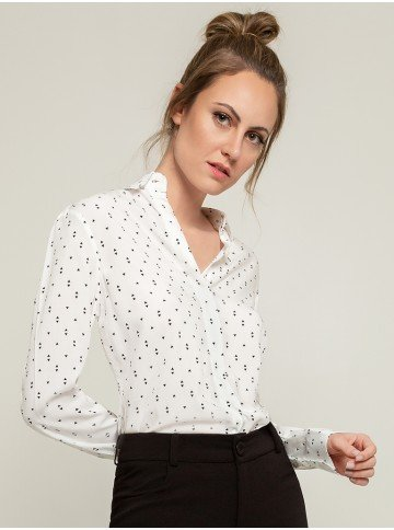 camisa estampa exclusiva cibele frente
