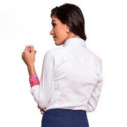 camisa social branca nalva modelagem