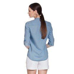 blusa jeans azul desiree modelagem