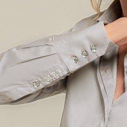 camisa personalizada cinza harper obordado