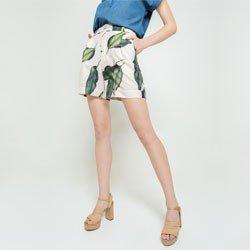 shorts folhagem bonnie geral