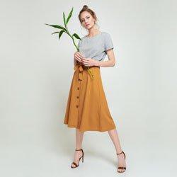 blusa listrada decote redondo madson geral