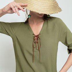 bata verde militar amarracao melissa design