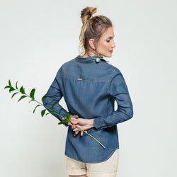 bata jeans miranda modelagem