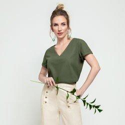 blusa verde militar ayla geral