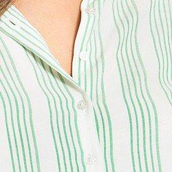 camisa listrada menta cassidy aviamentos